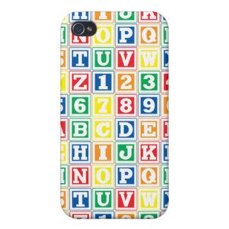 ABC Blocks iPhone 4 Cases