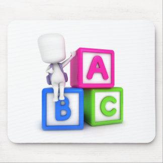 ABC Blocks Kid Mousepads