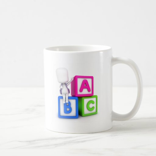 ABC Blocks Kid Mugs