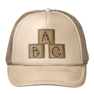 ABC Blocks Trucker Hat