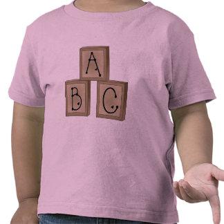ABC Blocks Tshirts