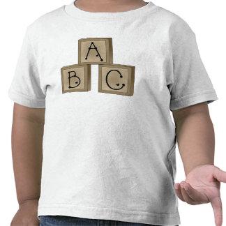 ABC Blocks T-shirts