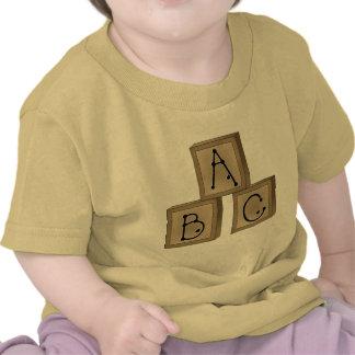 ABC Blocks Shirts