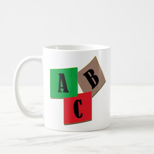 ABC COFFEE MUG