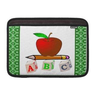 ABC de los profesores personaliza Fundas Para Macbook Air