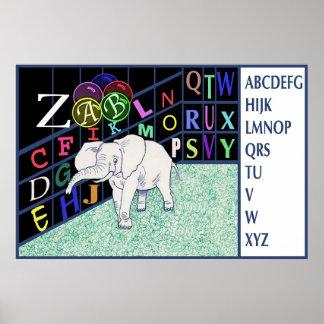 ABC ELEPHANT Item#140/pos Poster