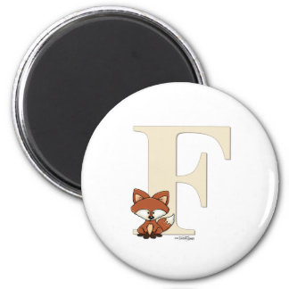 ABC - Fox Baby Gifts 2 Inch Round Magnet