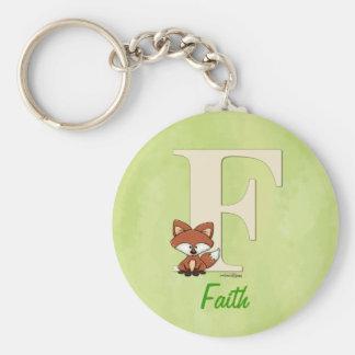 ABC - Fox Baby Gifts Key Chain