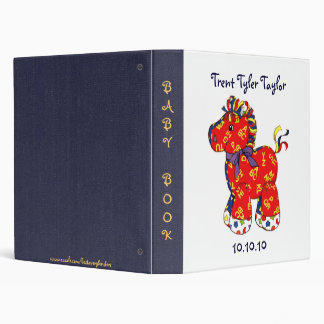 ABC Horse Baby Book/Photos/Meds.Records/Keepsakes? Binder