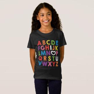 ABC I Love You Kindergarteners Tee Shirt