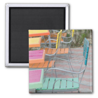 ABC Islands, ARUBA, Palm Beach: Colorful Cafe Fridge Magnets