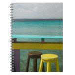 ABC Islands, BONAIRE, Kralendijk: Ocean View Spiral Notebook