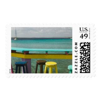 ABC Islands, BONAIRE, Kralendijk: Ocean View Stamps