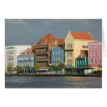 ABC Islands, CURACAO, Willemstad: Harborfront 2 Greeting Card