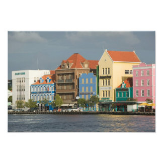 ABC Islands, CURACAO, Willemstad: Harborfront 2 Photo Print