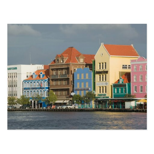 ABC Islands, CURACAO, Willemstad: Harborfront 2 Postcard