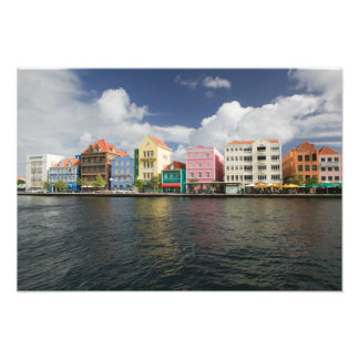 ABC Islands, CURACAO, Willemstad: Harborfront Photographic Print