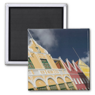 ABC Islands, CURACAO, Willemstad: Punda 2 Inch Square Magnet