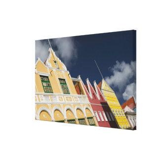 ABC Islands, CURACAO, Willemstad: Punda Canvas Print