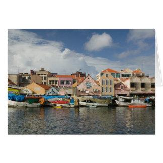 ABC Islands, CURACAO, Willemstad: Punda, Card
