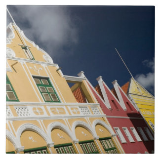 ABC Islands, CURACAO, Willemstad: Punda Large Square Tile