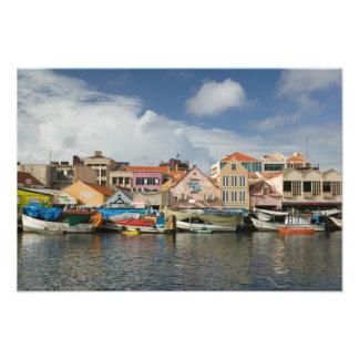 ABC Islands, CURACAO, Willemstad: Punda, Photo Art