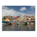 ABC Islands, CURACAO, Willemstad: Punda, Postcard