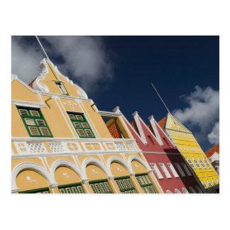 ABC Islands, CURACAO, Willemstad: Punda Postcard