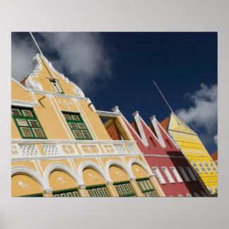ABC Islands, CURACAO, Willemstad: Punda Poster