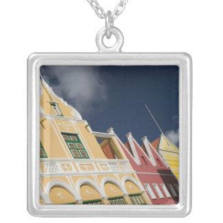 ABC Islands, CURACAO, Willemstad: Punda Square Pendant Necklace