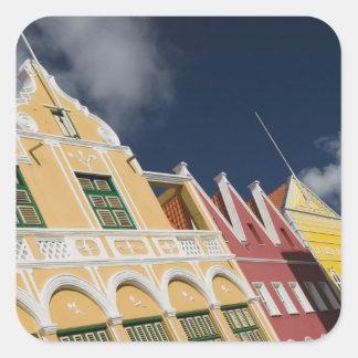 ABC Islands, CURACAO, Willemstad: Punda Square Sticker