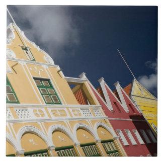 ABC Islands, CURACAO, Willemstad: Punda Tile