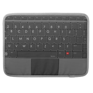 ABC Keyboard MacBook Pro Sleeves