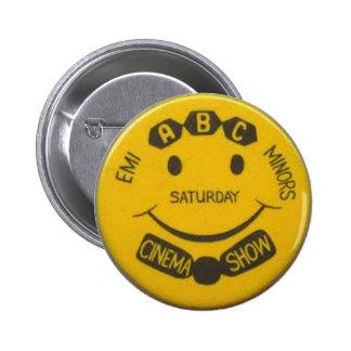 ABC Minors badge - EMI Pinback Button