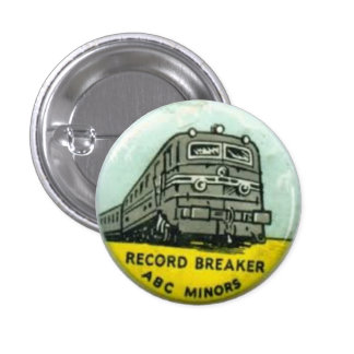 ABC Minors badge - Record Breakers Button