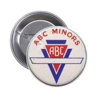 ABC Minors badge - white Button