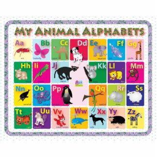 ABC: Mis alfabetos animales Imán Fotoescultura
