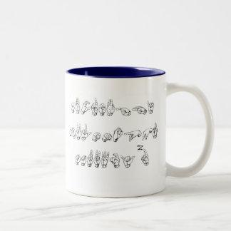ABC mug