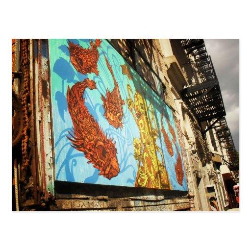 ABC No Rio, Lower East Side, New York City Postcard
