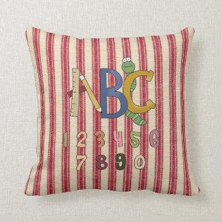 ABC & Numbers Kids MoJo Throw Pillow