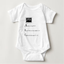 abc of back to school copy baby bodysuit