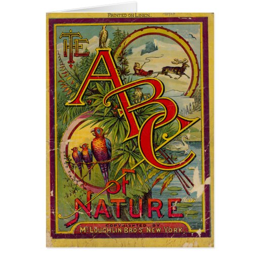 ABC of Nature Card