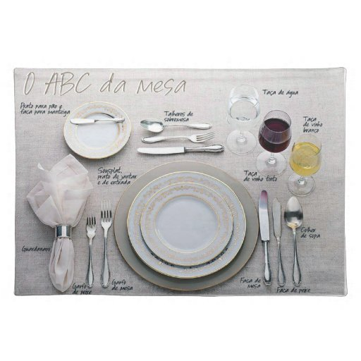 ABC of the Table Cloth Placemat