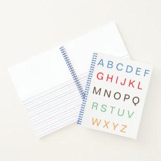 ABC Paper Alphabet Letters Practice Notebook