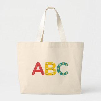 ABC por PaddleDuck Bolsas De Mano