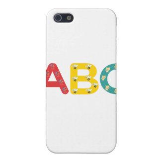 ABC por PaddleDuck iPhone 5 Carcasa