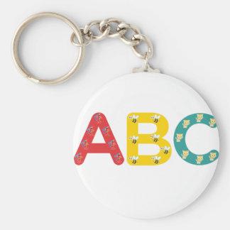 ABC por PaddleDuck Llaveros