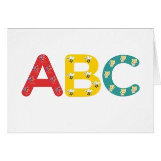 ABC por PaddleDuck Felicitaciones