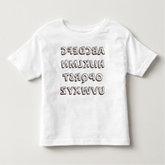 ABC posterior 1 T-shirts