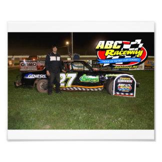 ABC Raceway feature winner Photo Print